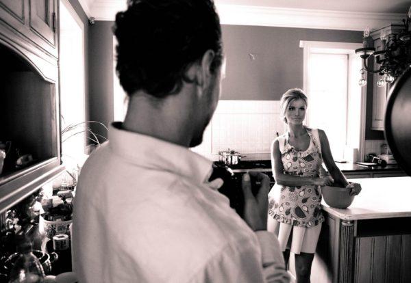 Backstage Joanna Krupa 2015