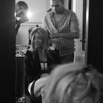 Secret Lashes Fashion Show 2011 - backstage 2