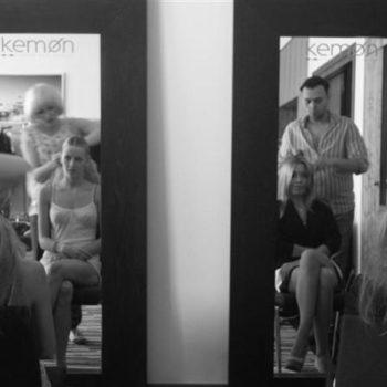 Secret Lashes Fashion Show 2011 - backstage 5