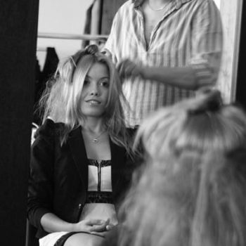 Secret Lashes Fashion Show 2011 - backstage 6