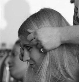 Secret Lashes Fashion Show 2011 - backstage 18