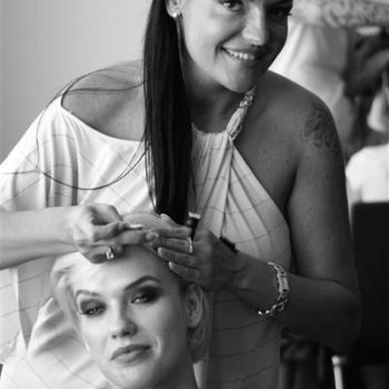 Secret Lashes Fashion Show 2011 - backstage 31