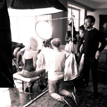 Backstage Joanna Krupa 2015 11