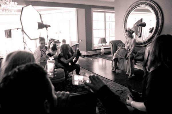 Backstage Joanna Krupa 2015 24