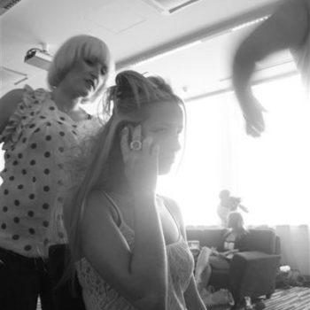 Secret Lashes Fashion Show 2011 - backstage 40
