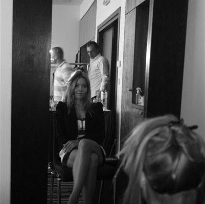 Secret Lashes Fashion Show 2011 - backstage 1