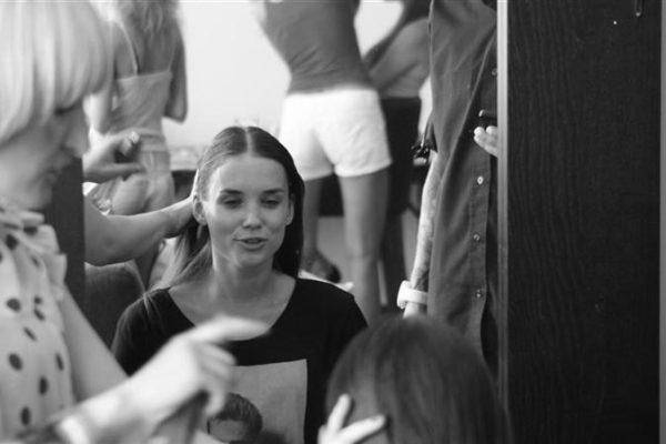 Secret Lashes Fashion Show 2011 - backstage 15