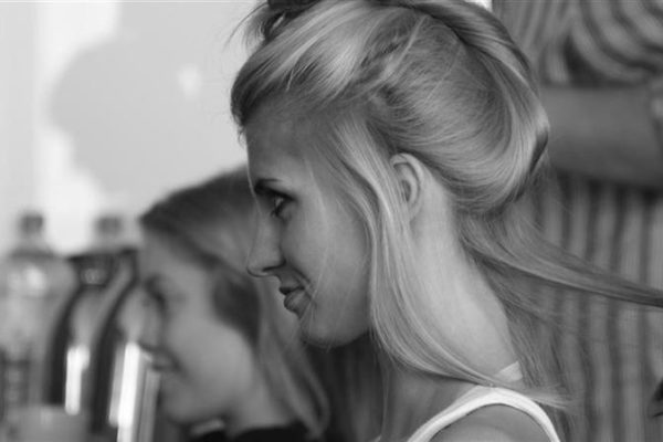 Secret Lashes Fashion Show 2011 - backstage 23