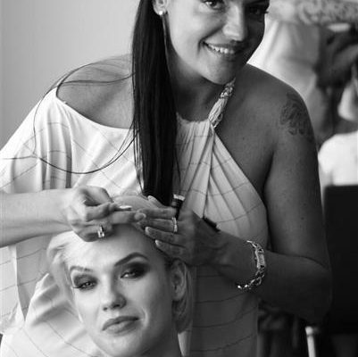 Secret Lashes Fashion Show 2011 - backstage 31