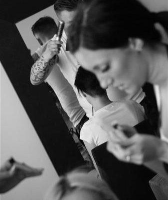 Secret Lashes Fashion Show 2011 - backstage 33