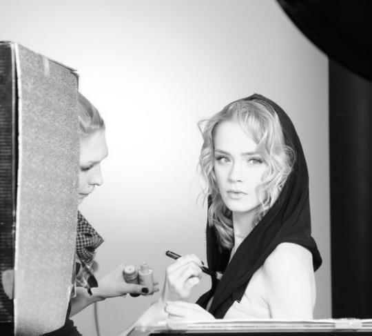 Kasia Smolińska – Backstage